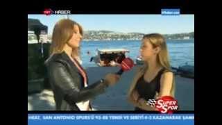Burcu Burkut Erenkul - TRT Haber - Süper Spor - 22.06.2013