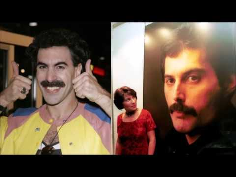 Celebrity Look-Alikes: Sacha Baron Cohen (Borat) Looks Like Freddie Mercury of Queen