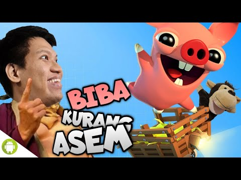 BIBA NYA KABUR DARI PABRIK SOSIS WKWK!! Bacon Escape [INDONESIA] ~Main Kereta2an!!