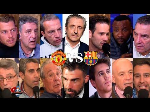 DIRECTO  Manchester United VS. Barça con EL CHIRINGUITO  IDA CUARTOS CHAMPIONS