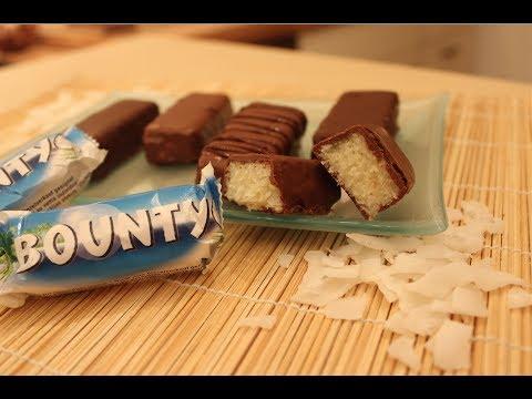bounty - http://www.sallystortenwelt.de Nachgemacht: Original trifft Sally: Bounty-Riegel Rezept / Bounty Bars Recipe In meiner neuen Reihe