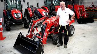 2. TYM T194 Sub compact tractor walk through