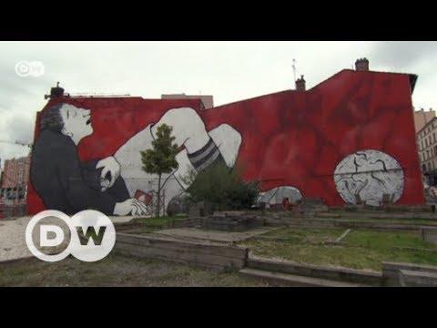 Ella & Pitr: Streetart in XXL | DW Deutsch
