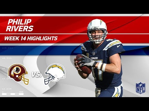 Video: Philip Rivers Highlights | Redskins vs. Chargers | Wk 14 Player Highlights