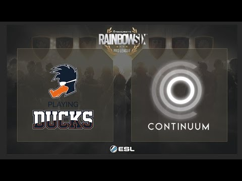 Playing Ducks vs. Continuum - Rainbow Six Pro League Finals on PC