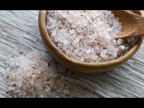 Солевой скраб. Как сделать  солевой скраб для тела самому. [Юлия Манищенкова]
