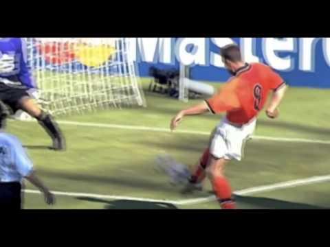 89 – DennisBergkamp: Netherlands v Argentina 1998 – World Cup 90 Minutes In 90 Days