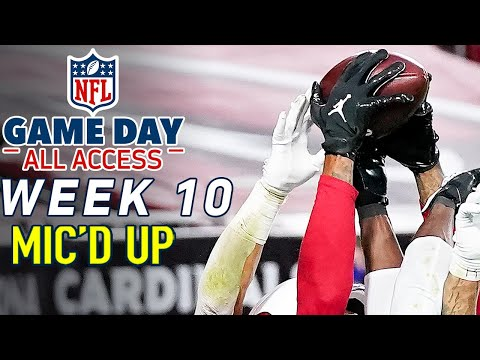 """NFL Week 10 Mic'd Up! """"I knew I was going to catch that"""" 