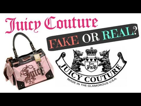 My THRIFTED Juicy Couture Purse Collection | FAKE OR REAL?