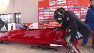 """""""Drobne"""" problemy włoskich bobsleistów :)"""