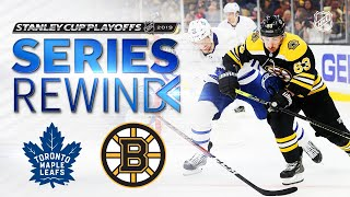 SERIES REWIND: Bruins outlast Maple Leafs in seven games for second straight year by NHL