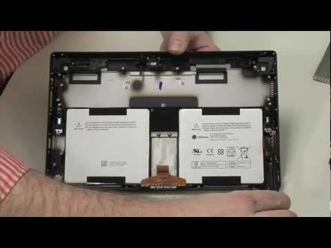 The Microsoft Surface Pro – Cracking Open