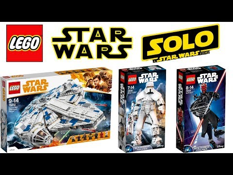 Lego Star Wars Han Solo a Star Wars Story 2018 Sets Download 128 ...