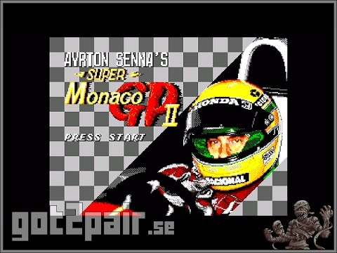 Ayrton Sennas Super Monaco GP II - Master System