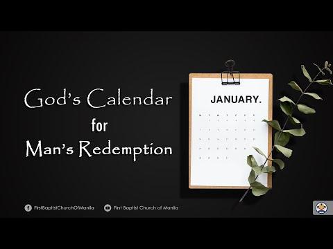 God's Calendar of Redemption Part 16