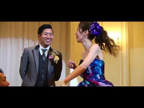 「会場内でゴルフ!?」ゲストからの祝福のコンフェッティシャワーから始まるおふたりらしい結婚式☆