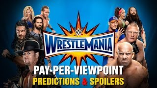 Nonton Wwe Wrestlemania 33 Ppv Event Match Card And Predictions Rundown Film Subtitle Indonesia Streaming Movie Download