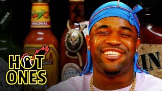 Hot Ones - ASAP Ferg Harlem Shakes While Eating Spicy Wings | Hot Ones