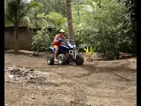 quad MVK sport 110 muito barro