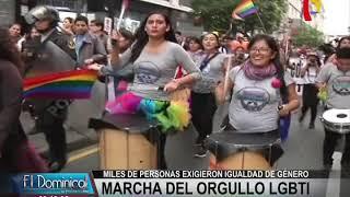 Así se vivió la Marcha por el Orgullo Gay en Lima (1/2)