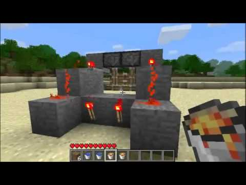 Minecraft: Fast Cobblestone Generator v2.0 (85 blocks per minute)