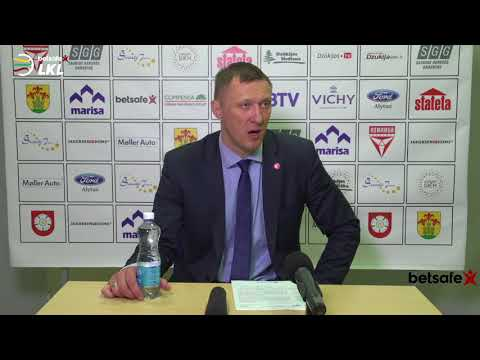 """""""Betsafe–LKL"""" rungtynių komentarai: """"Dzūkija"""" - """"Juventus"""" [2018-04-29]"""