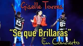 """Giselle en concierto desde Mexico. """"Se que Brillaras"""" (LIVE). Instagram: @giselleeetorres Facebook:..."""