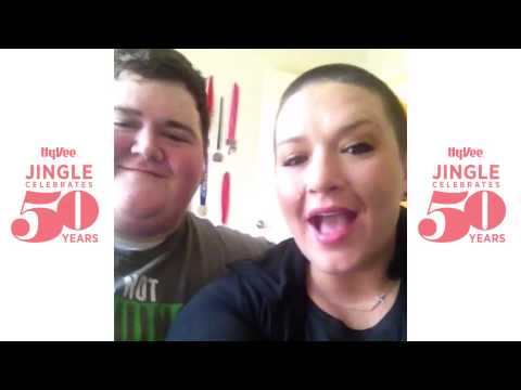 Daniel and Rebecca Wright sing the Hy-Vee jingle