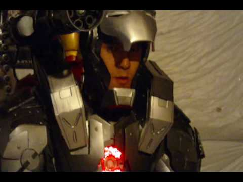 Fan Made Cosplay War Machine Armor