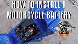 7. How to install a Motorcycle Battery | 2006 Honda CBR1000RR Fireblade