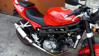 8. Hyosung GT 650 with Screaming Demon