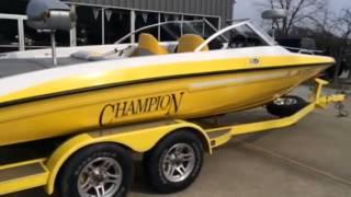10. 2009 Champion 214 SX fish n ski/ multispecies boat