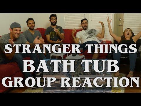 Stranger Things - 1x7 The Bathtub - Group Reaction