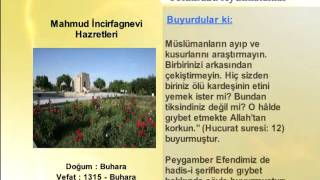 MAHMUD INCIRFAGNEVI HAZRETLERİ (YOLUMUZU AYDINLATANLAR)