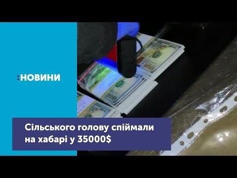 На Житомирщині посадовця спіймали на хабарі у 35 тис дол
