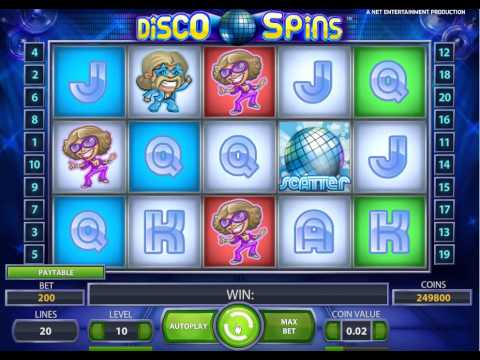 Disco Spins Slot Machine