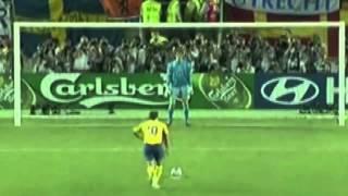 EM 2004: Niederlande gewinnen Elfmeterschießen gegen Schweden