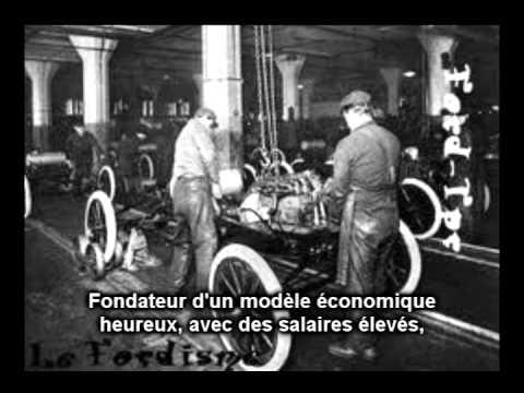 Henry FORD, fondateur d'un modèle économique heureux (VIDEO)