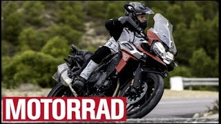 1. 2018 Triumph Tiger 1200 XC/XR: Mehr Features, weniger Gewicht (English Subtitles)