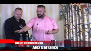Flairbar.com Show with Alex Barranco behind the bar @ Tales of the Cocktail 2015!