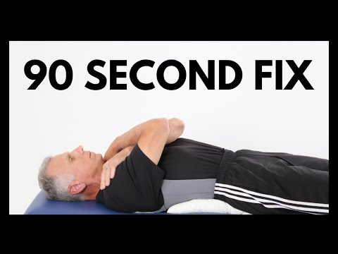 How to Fix Low Back Pain in 90 Seconds, Bob and Brad Concur!
