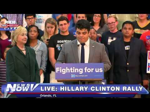 FNN: FULL Hillary Clinton Rally - Orlando, Florida