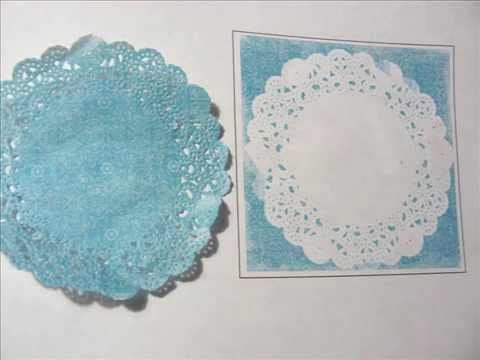 DIY Friday 2 27 15 - Patterned Doilies