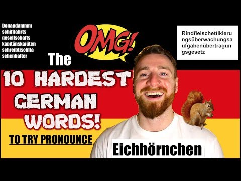The 10 Hardest German Words to Pronounce