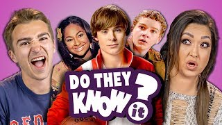 Video DO ADULTS KNOW DISNEY CHANNEL ORIGINAL MOVIES? (REACT: Do They Know It?) MP3, 3GP, MP4, WEBM, AVI, FLV Agustus 2018