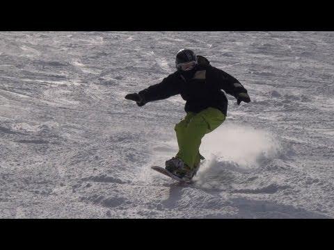 スノーボードカーヴィング/アルペンボードフリーカーヴ2012
