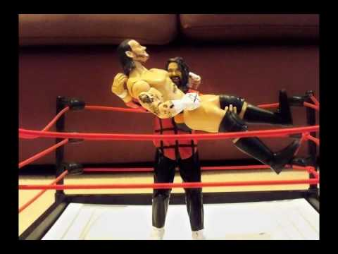 backroompokerstar - Mick Foley reverses a CM Punk bulldog into a backbreaker. Enjoy!!