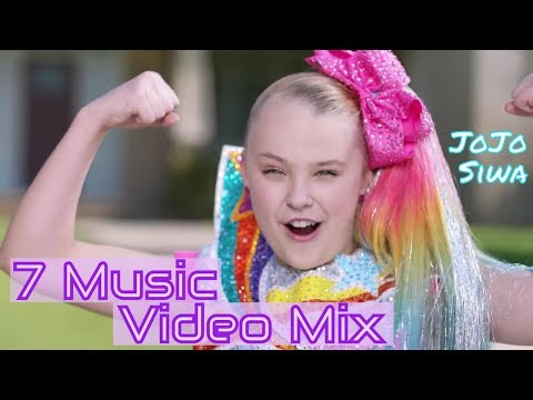JoJo Siwa Songs - 7 Music Video Mix Compilation