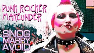 Amazing Transformation: Shocking Punk Rocker Girl Turned Into Stunner