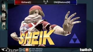 Toryumon Grand Finals: DNG | Nietono (Sheik) vs. Kirihara (Rosalina)